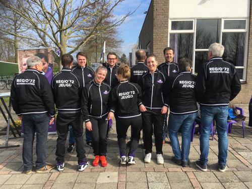Vrienden van Regio '72 schenken vesten aan jeugdtrainers