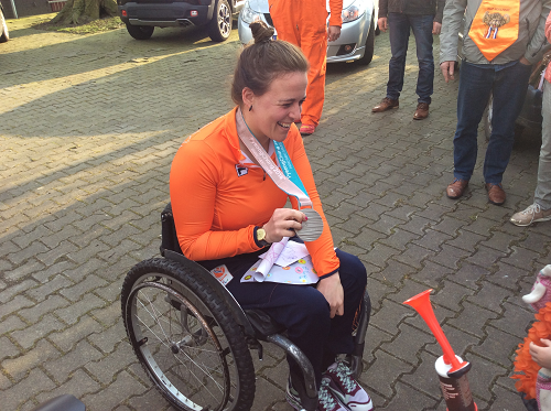 Zilveren medaille winnares Linda van Impelen verteld haar verhaal