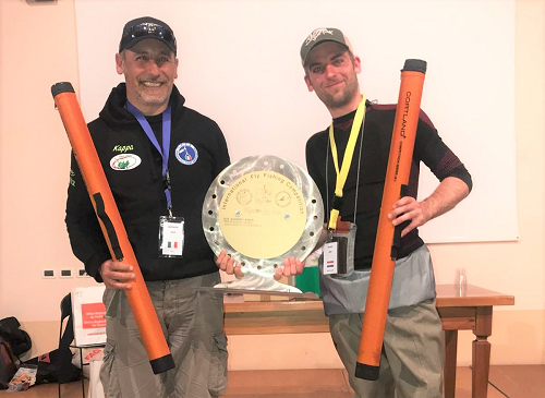Nick Mager wint Alpine flyfishcup in Italië