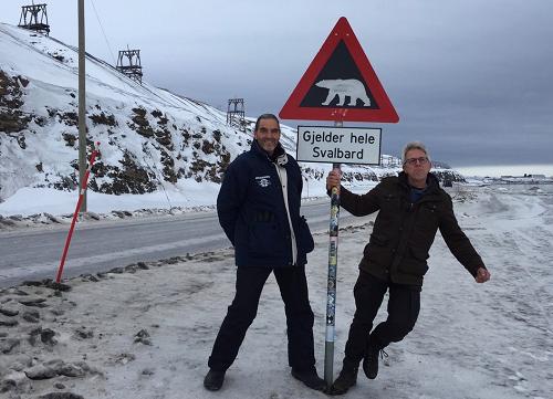Vaassense ballonvaarder ontdekt Spitsbergen