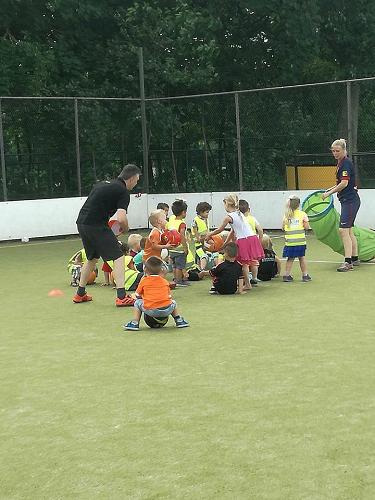 Top voetbalweer voor mini's van Vios Vaassen