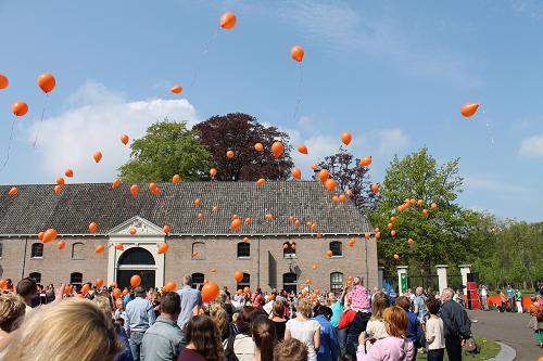 Uitnodiging voor feestelijke Oranjemiddag op kasteel Cannenburch