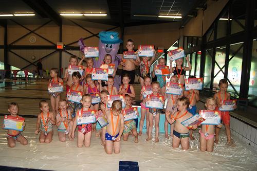 Eerste afzwemfeest Koekoek groot succes!