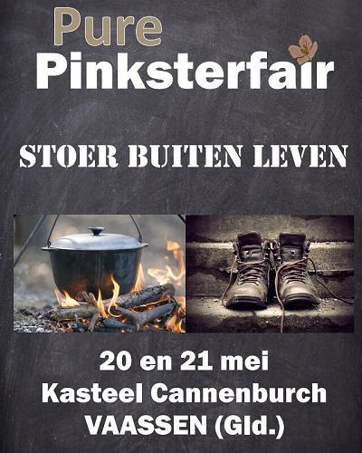 Pure Pinksterfair bij kasteel Cannenburch