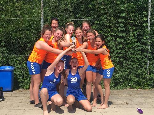 CVO D1 wint de finale op het beachtoernooi bij ABS.