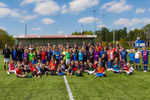 Zonovergoten Rabobank voetbaldag V.V. KCVO