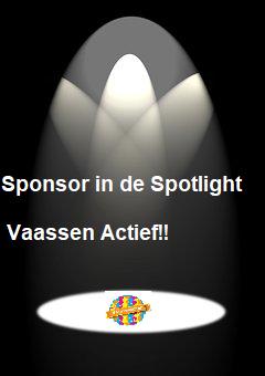 Sponsoren van Vaassen Actief in de Spotlight