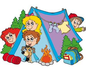 Tentenkamp voor de kids bij speeltuinvereniging Emst