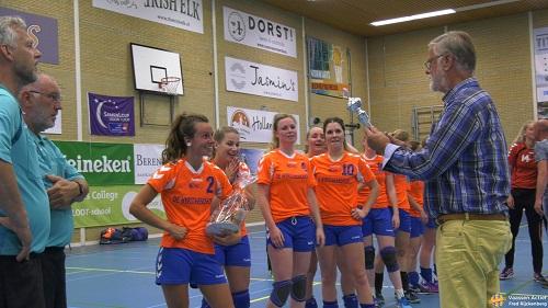 Nagenieten CVO Dames 1 Bekerkampioen!