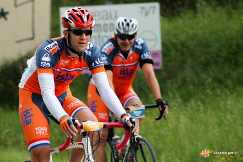 Herman ten Voorde tijdens Tour Du A.L.S.