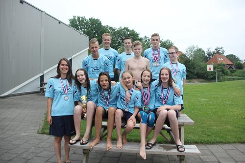 Tropisch en succesvol Gk lange baan voor zwemmers ZVV