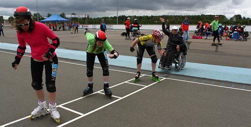 clinic G-Skaten voor sporters met een beperking
