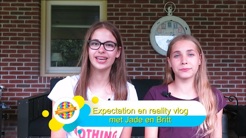 Expectation vs Reality vlog van Jade en Britt