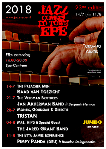 Jazz Comes To Town Epe 2018