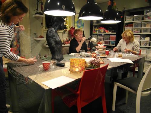 Open huis bij het Vrije Atelier