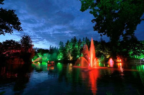 """Hét licht-, water- en geluidsevenement van de Veluwe  """"Lumido 2018""""!"""