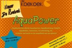 Introductieles AquaPower bij De Koekoek in Vaassen