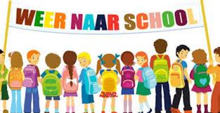De scholen gaan morgen 27 augustus 2018 weer beginnen!
