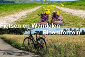 Wijksteunpunt Bloemfontein  organiseert een Fietstocht en Wandeltocht