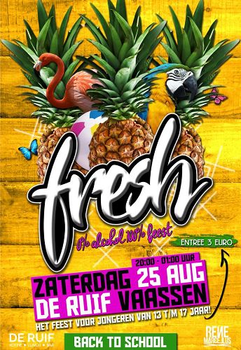 FRESH bij Café Bar De Ruif in Vaassen
