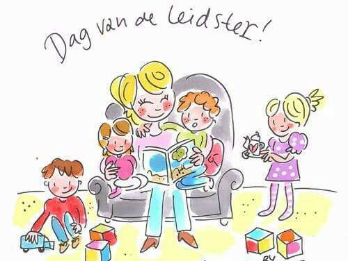 "KOM kinderopvang viert vandaag  ""Dag van de Leid(st)er"""