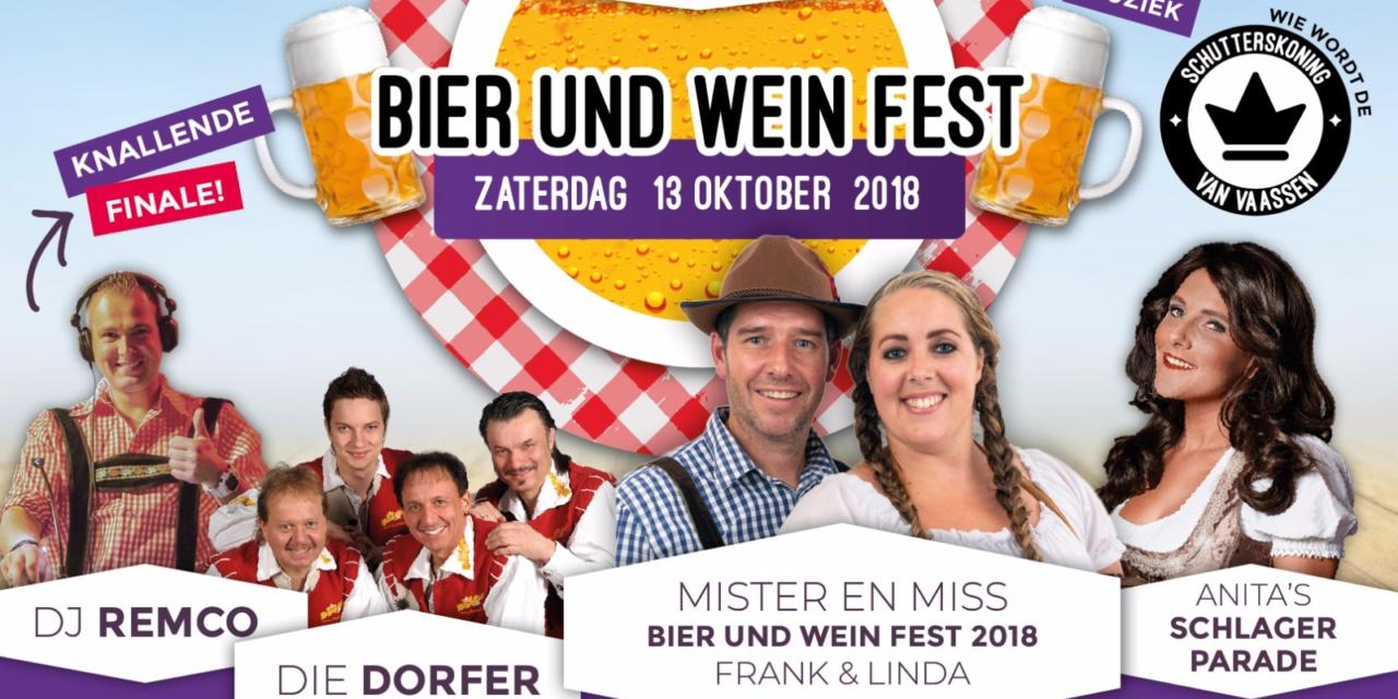 Nog kaarten voor Vaassens Bier und Weinfest beschikbaar