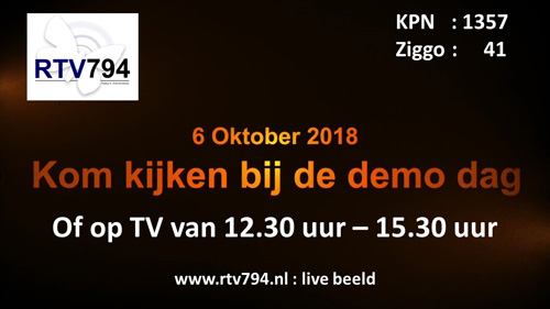 Live-TV vanaf 112 event Vaassen