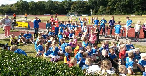 Uniek schoolevenement voor de Sprenge-Vaassen:  De Sprenge trailrun. De Sprenge is in beweging!