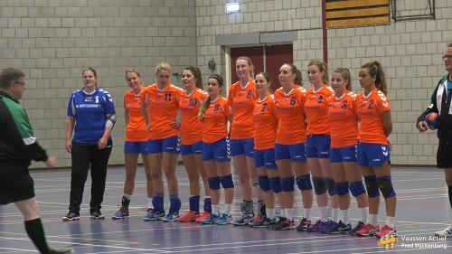 CVO Dames1 wint van Zwolle