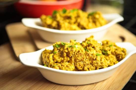 Vegetarische Bloemkool Curry