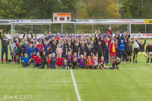 Weer een mooie KCVO voetbaldag voor de jeugd
