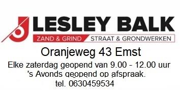 Lesley Balk Zand & Grind Straat & grondwerk