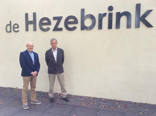 Afcheid Gerrit Kloezeman en Bé Brummel Dorpshuis de Hezenbrink in Emst