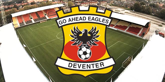 Go Ahead Eagles jeugdvoetbalclinic bij vv Emst