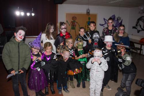 Halloween speurtocht bij de Kouwenaar