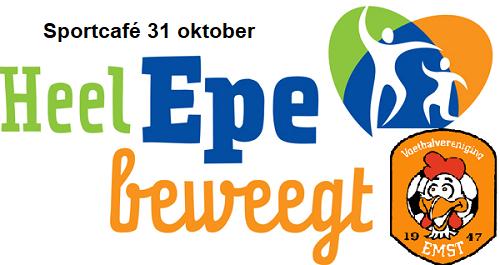 "Sportcafé 31 oktober, thema ""Sportief Besturen"""