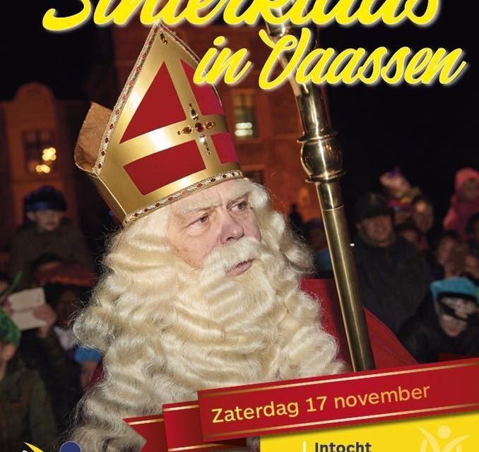 Aankomst Sinterklaas in Vaassen