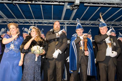 Presentatie nieuw Prinsenpaar der Rossumdaerpers op zondag 11 november