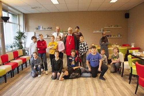 Burgemeestersontbijt met de Van der Reijdenschool Deel 1