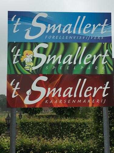 't Smallert niet via de gebruikelijke weg bereikbaar.