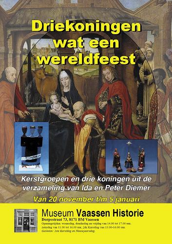 expositie drie koningen in Museum Vaassen Historie