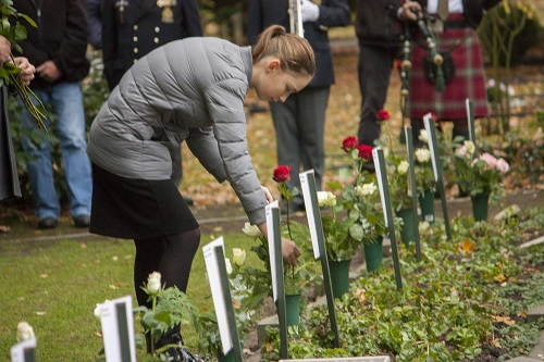 Poppy Day herdenking Vaassen