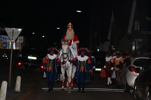 Intocht Sinterklaas in Vaassen