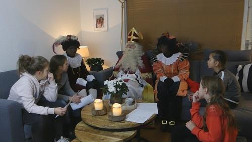 Interview Sinterklaas met het Jeugdteam