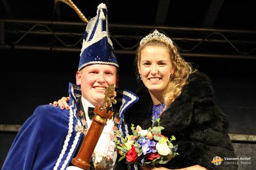 Onthulling nieuw prinsenpaar Rossumdaerpers