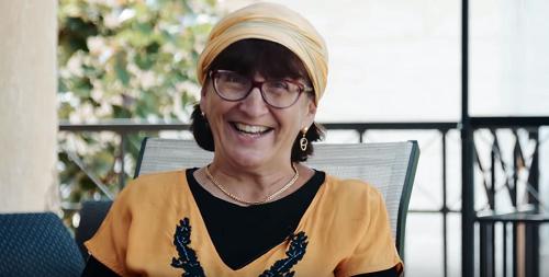 """Lezing met Sondra Baras, in samenwerking met ds. H. Poot in Vaassen over """"Judea en Samaria"""
