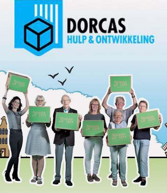 Heel Nederland geeft tijdens de Dorcas Voedselactie
