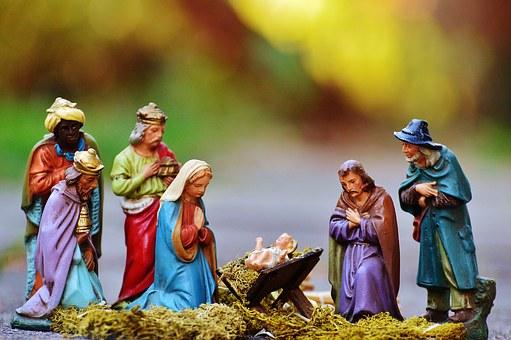 Bezoek aan kerststallen- en kerstmannenexpositie in Losser.  Winteruitje Koppel-Swoe