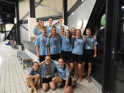 ZVV sterk op Gelders zwemkampioenschap