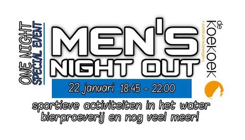 Men's Night Out in de de Koekoek